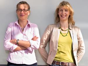 Nadja Bungard und Andrea Rochlitz